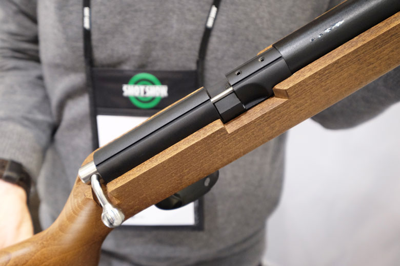 For our HAM Report from Day Two of the 2019 SHOT Show, we'll take-in new products from Daystate, Brocock and Diana. There's a lot of them and there's more...