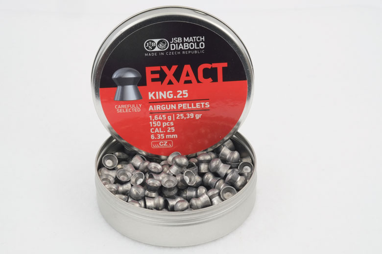 JSB Exact King 25.36 Grain .25 Caliber Pellet Test Review