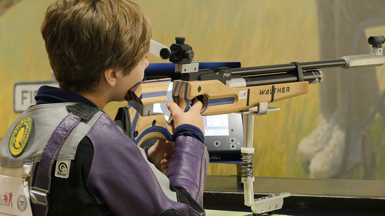 First Paralympic Air Rifle Shooter Recalls 2018 3P Competitive Season