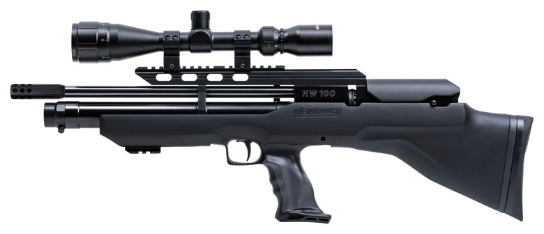 HAM Exclusive! New Weihrauch HW 100 BP Bullpup Launched