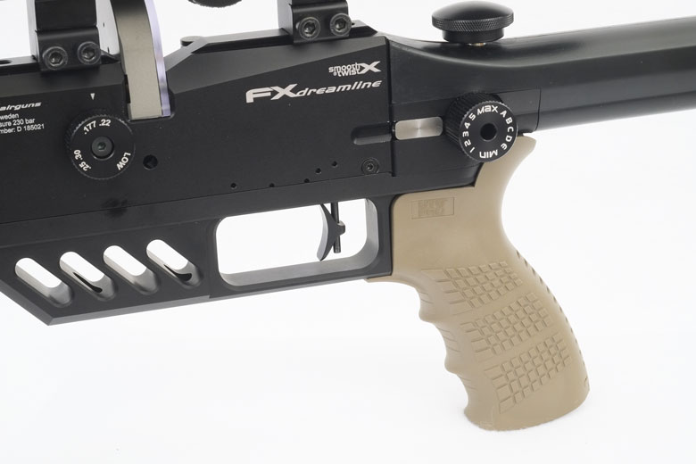 FX Dreamlite Air Rifle Test Review  22 Caliber - Hard Air