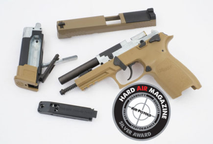 SIG SAUER P320 M17 Air Pistol Test Review