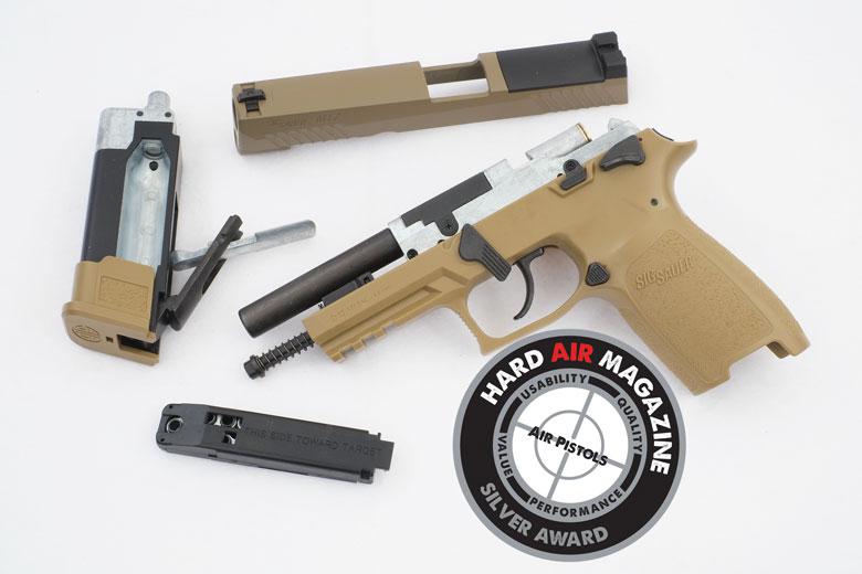 SIG SAUER P320 M17 Air Pistol Test Review - Hard Air Magazine