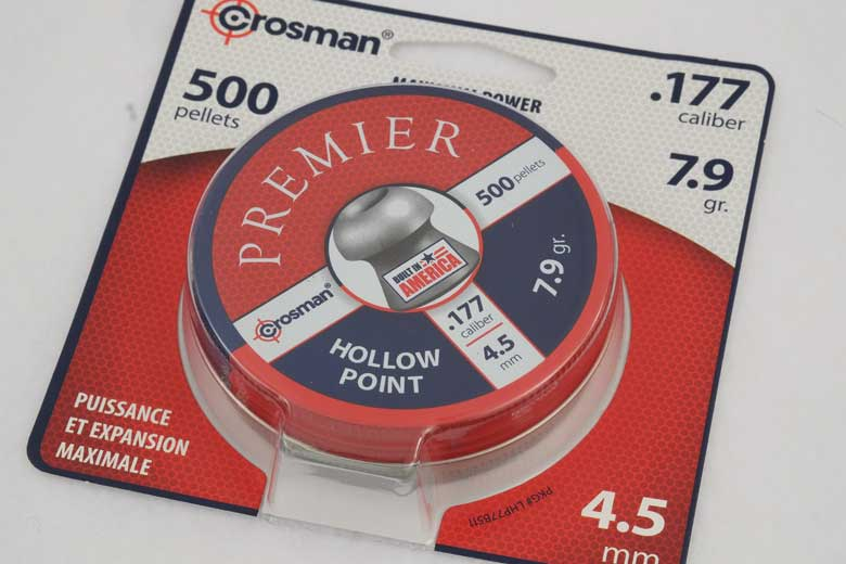 Crosman Premier Hollow Point 7.9 Grain .177 Caliber Pellet Test Review
