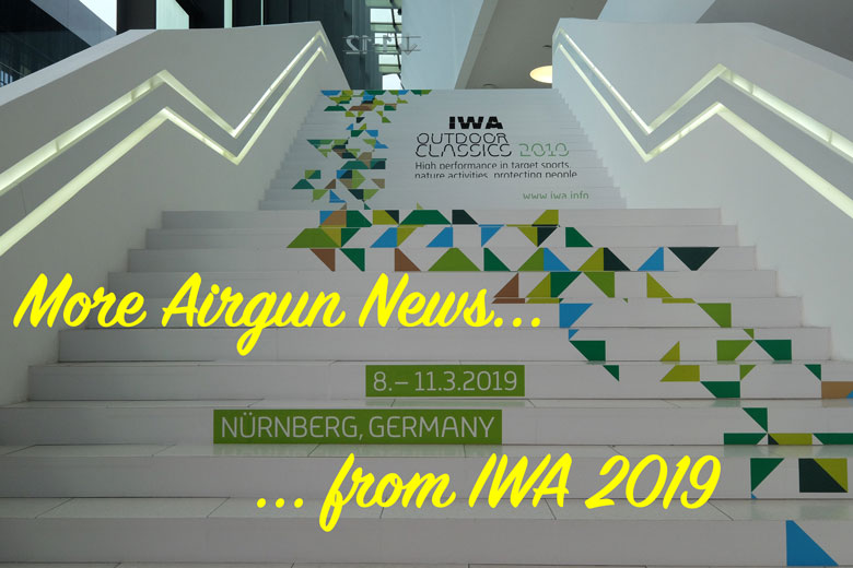 2019 IWA Show Day Two Airgun Report