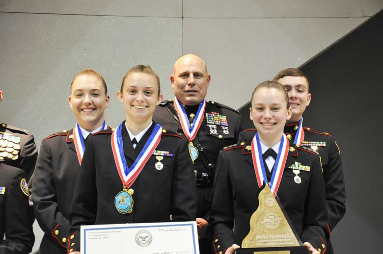 Granbury High School Wins 2019 JROTC National Air Rifle Championship Precision Title