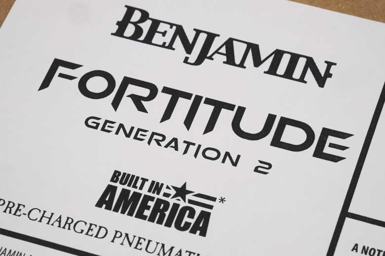 Benjamin Fortitude Generation 2 First Sighting! - Hard Air