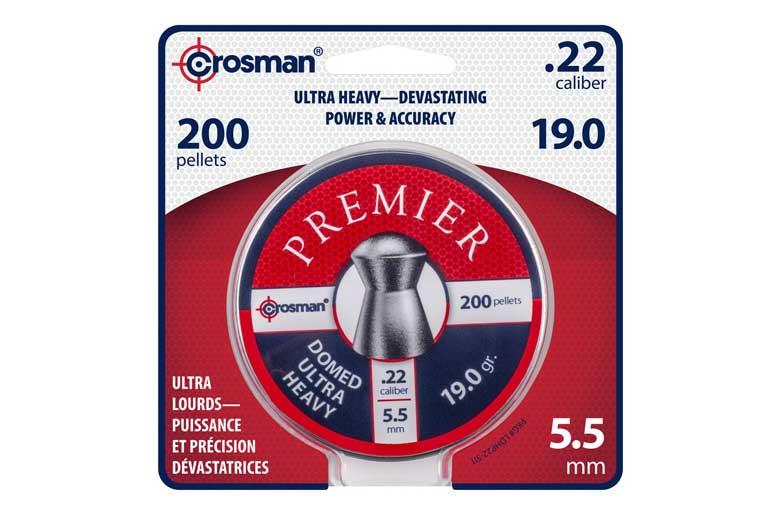 New Crosman Premier 19.0 Grain Domed Ultra Pellets