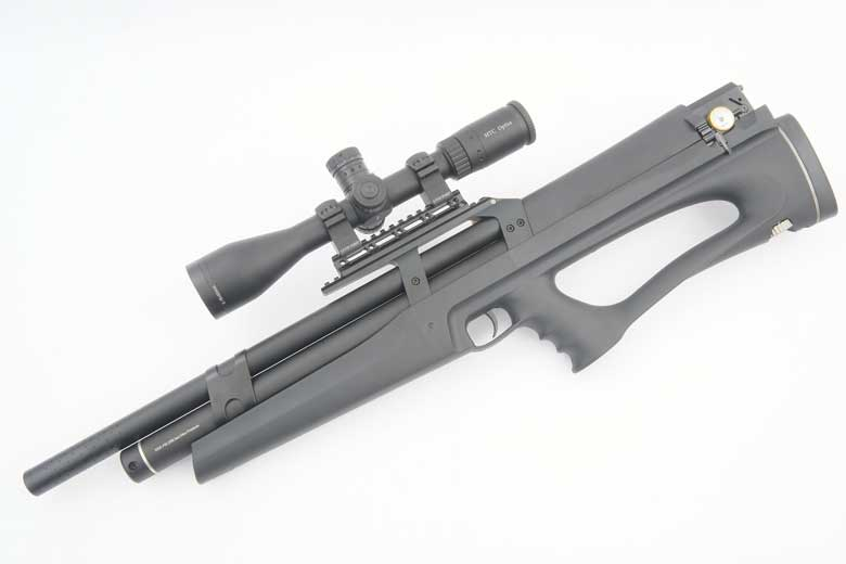 First Look At The Huben K1 Hammerless PCP Air Rifle