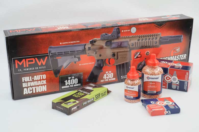 Bushmaster MPW BB Gun First Look