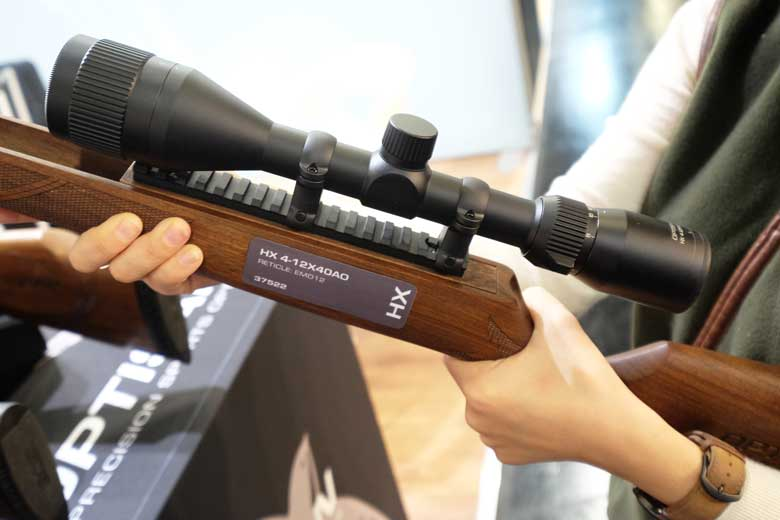 Some Riflescopes At IWA 2019