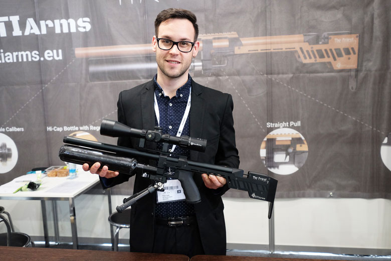 Bullpup PCP Air Rifles Are Everywhere At The 2019 IWA Show