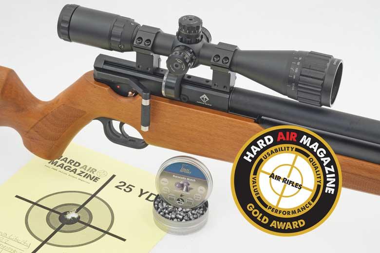 American Tactical Nova Liberty PCP Air Rifle Review  22 Caliber
