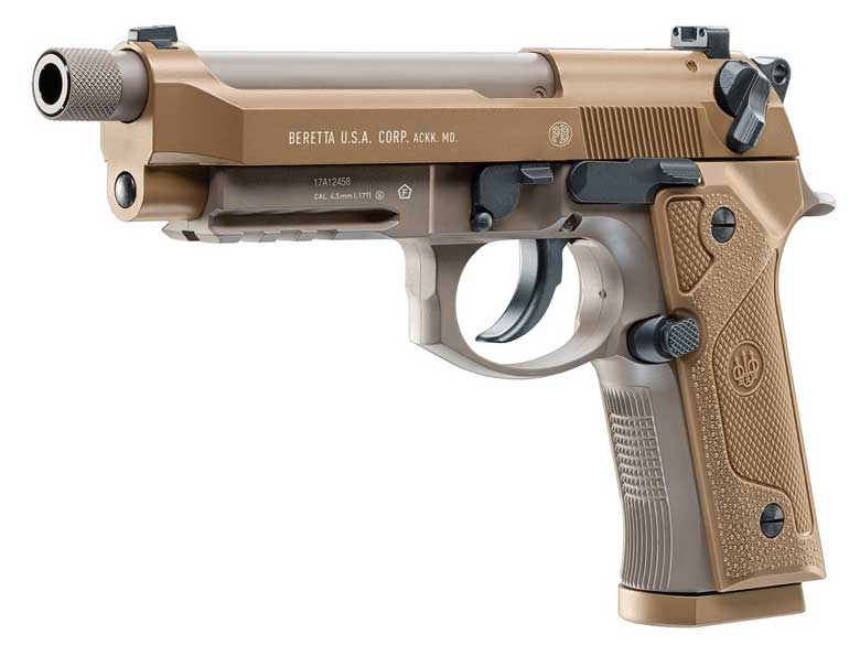Beretta M9A3 Full Auto BB Pistol Now In Stock