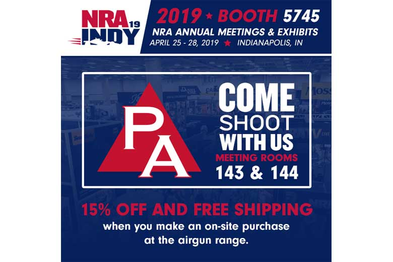 Shoot Airguns At The 2019 NRA Annual Meeting