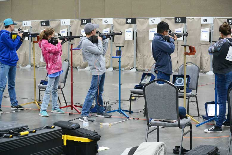 April 2019 CMP Regional 3P Air Rifle Event Summary
