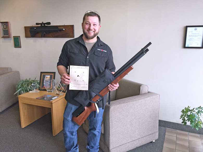 Phillip's Regulated Marauder Air Rifle Performance Test