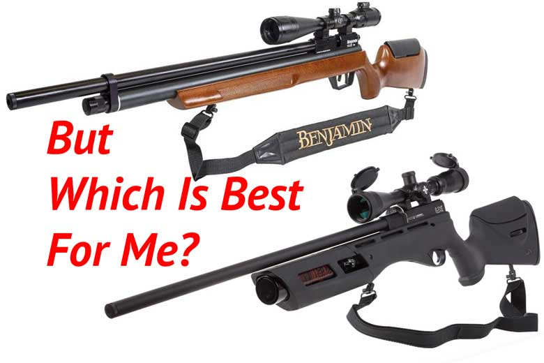 What's The Best Airgun For Me?