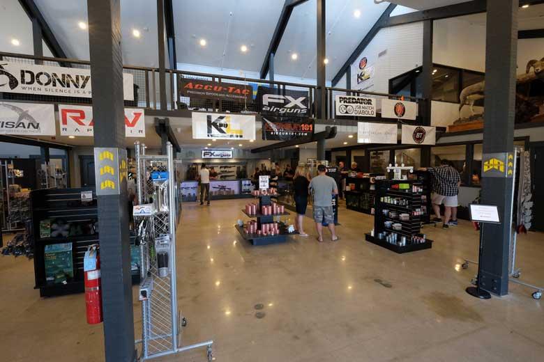Utah Airguns retail store