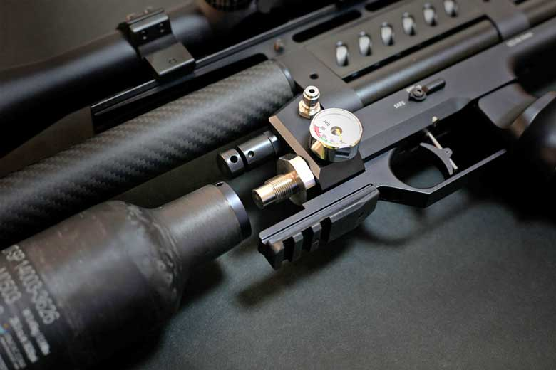 More Details On The LCS SK-19 Full Auto Air Rifle - Hard Air