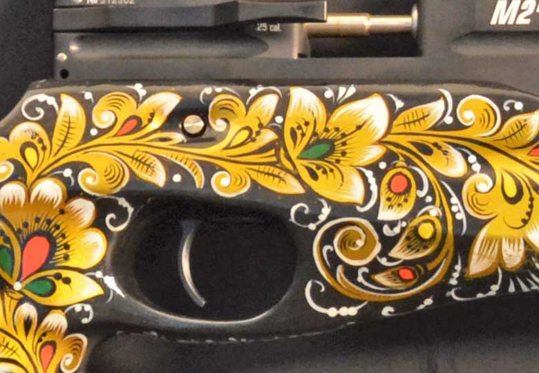 Hand Painted Wood Stocks On Ataman Air Rifles