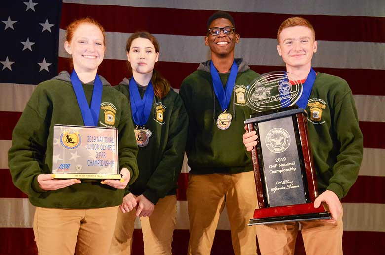 CMP 2019 National Three Position Air Rifle Championship Winners