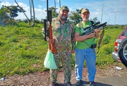 Iguana Hunting In Puerto Rico