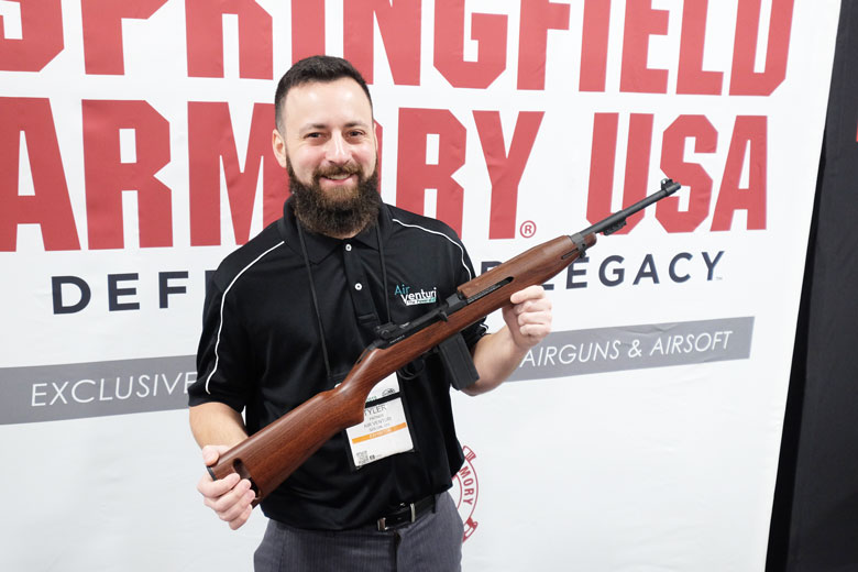 New Springfield Armory M1 Carbine BB Gun Now Shipping
