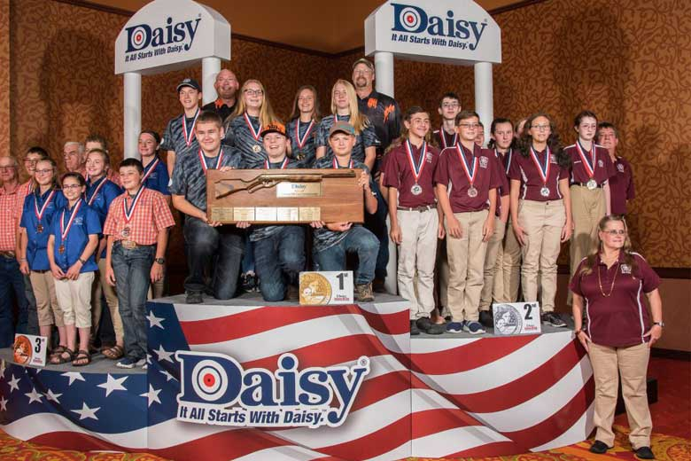 Pierre Junior Shooters Win 2019 Daisy Nationals