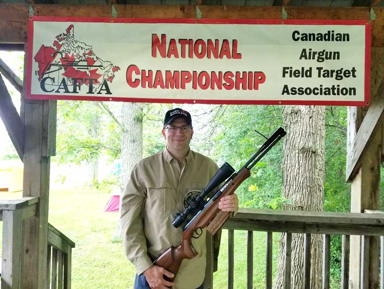 Eric Brewer Reports From The 2019 Canadian National Field Target Championship