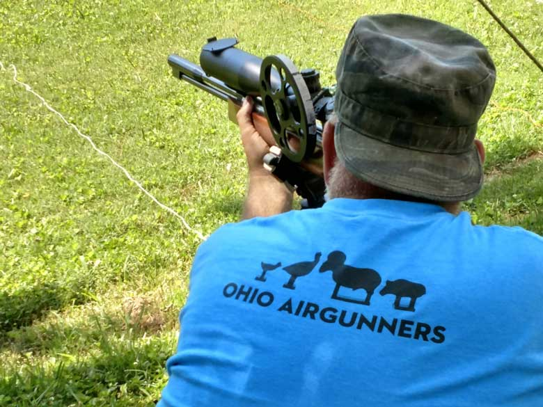 Central Ohio Airgunners Field Target Match July 14, 2019
