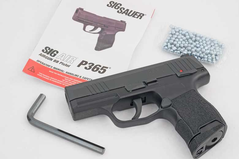 The new SIG AIR P365 BB Pistol Is Now Available