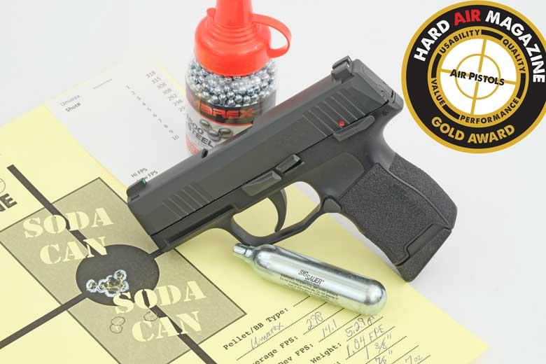 SIG Air P365 BB Pistol Test Review
