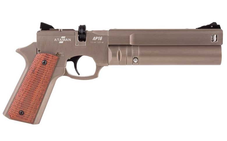 Ataman AP16 Pistol Now Available With Carbine Conversion