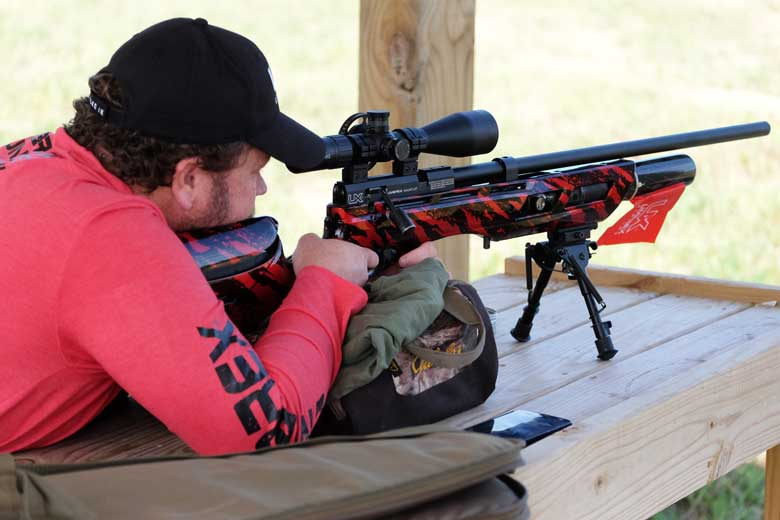 How well can the .25 caliber Gauntlet shoot at 100 Yards?