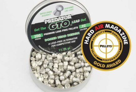 Predator GTO 11.75 Grain .22 Caliber Alloy Pellet Test Review