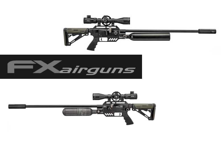 The New FX Dream-Tac Bottle Air Rifle Provides Huge Versatility