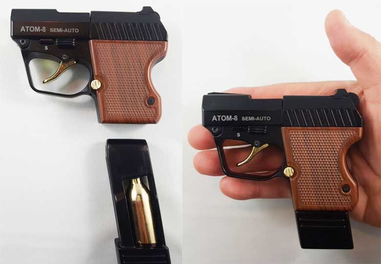 The New Goblin ATOM-8 - World's Smallest BB Pistol - Hard Air Magazine