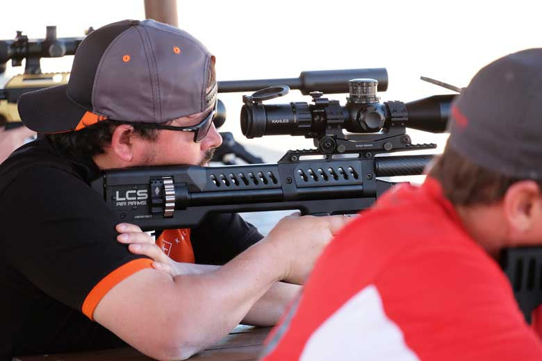 The SK-19 Air Rifle Shoots At Extreme Benchrest 2019