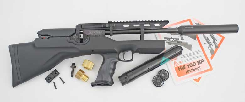 First Look At The Weihrauch HW100 Bullpup