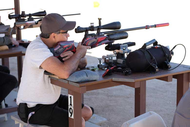 Huge Variety Of Airguns Used At EBR 2019