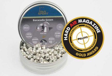 H&N Baracuda Green 12.35 Grain .22 Caliber Pellet Test Review