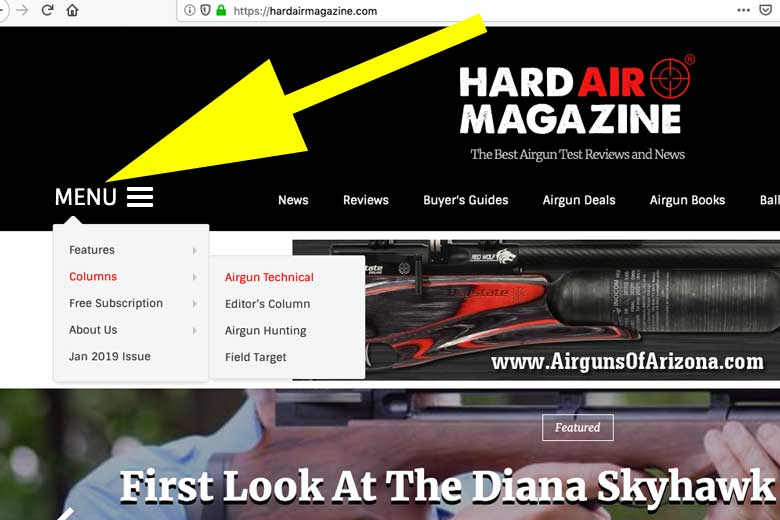 Now It's Easy To Find Bob Sterne's Airgun Technical Posts