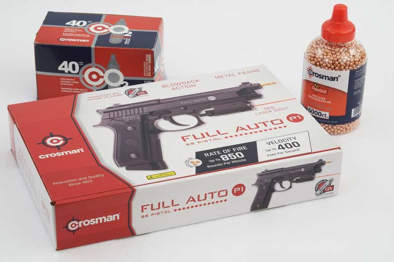 New Crosman Full Auto P1 Launched