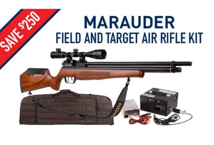Save Up To $250 On Marauder Combos At Pyramyd Air