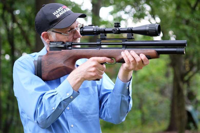First Look At The Diana Skyhawk PCP Air Rifle