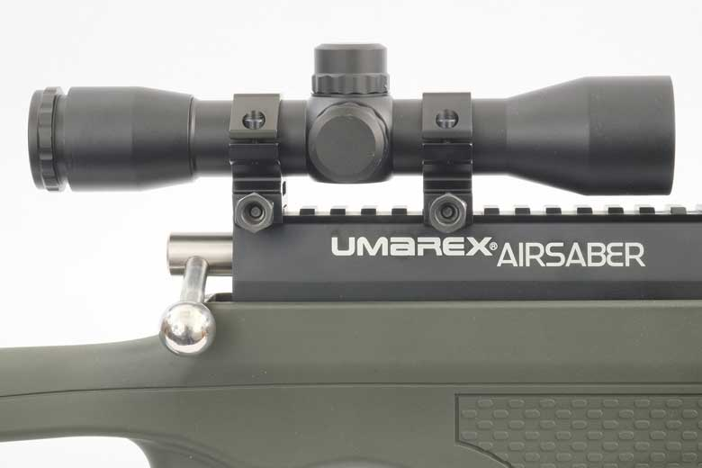 Umarex AirSaber Test Review