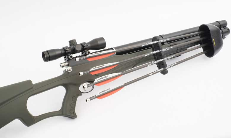 New Arrow-Firing PCP Umarex AirSaber Test Review