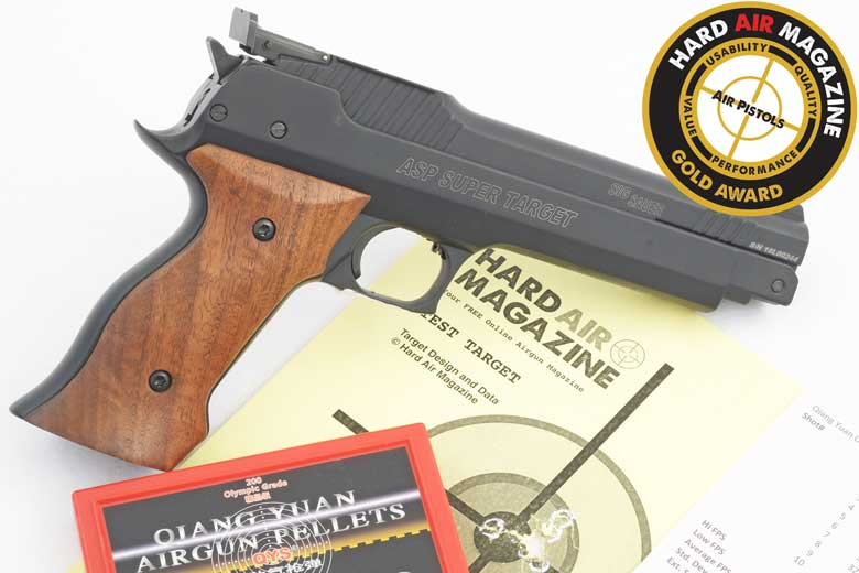 SIG ASP Super Target Air Pistol Review