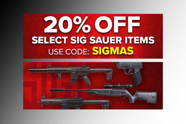 SIG Airguns On Sale - Save 20% With This Deal!